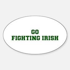 Fighting Irish-Fre dgreen Decal