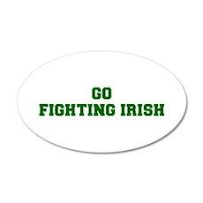 Fighting Irish-Fre dgreen Wall Decal