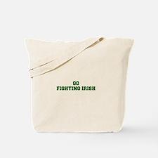 Fighting Irish-Fre dgreen Tote Bag