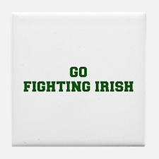 Fighting Irish-Fre dgreen Tile Coaster