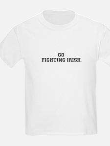 FIGHTING IRISH-Fre gray T-Shirt