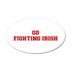 FIGHTING IRISH-Fre red Wall Decal
