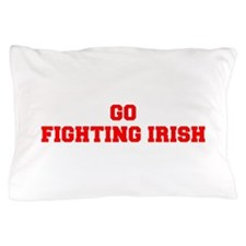 FIGHTING IRISH-Fre red Pillow Case