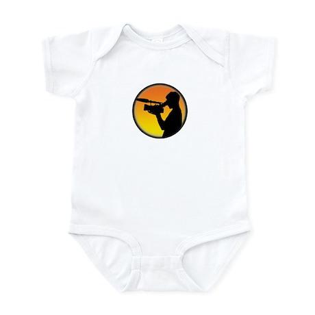 Plain Film Logo Infant Bodysuit