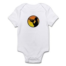 Plain Film Logo Infant Bodysuit