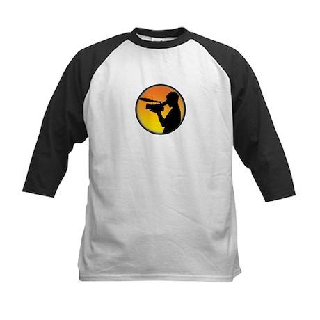 Plain Film Logo Kids Baseball Jersey