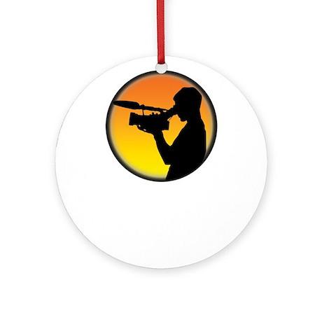 Plain Film Logo Ornament (Round)