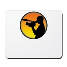 Plain Film Logo Mousepad