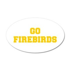 Firebirds-Fre yellow gold Wall Decal