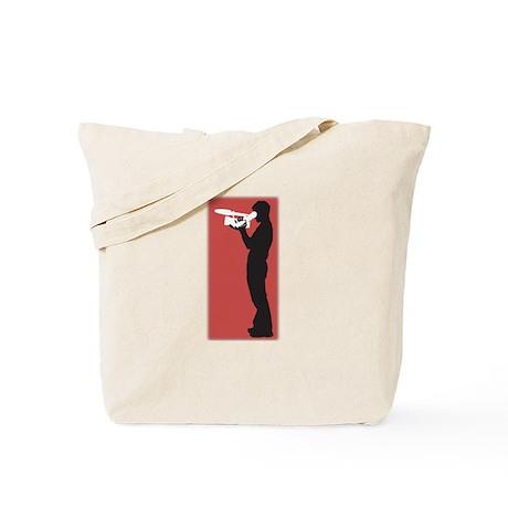 Standing FIlmmaker Tote Bag