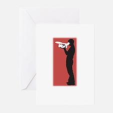 Standing FIlmmaker Greeting Cards (Pk of 10)