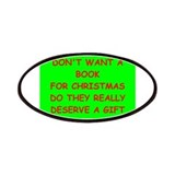 Books for christmas Patches