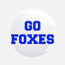 "Foxes-Fre blue 3.5"" Button"