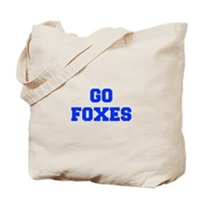 Foxes-Fre blue Tote Bag