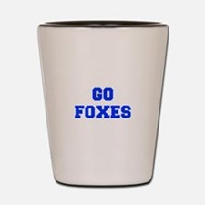 Foxes-Fre blue Shot Glass