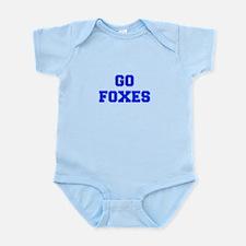 Foxes-Fre blue Body Suit