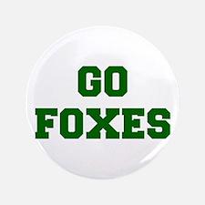 "Foxes-Fre dgreen 3.5"" Button"