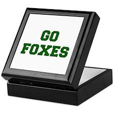 Foxes-Fre dgreen Keepsake Box