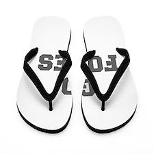 FOXES-Fre gray Flip Flops