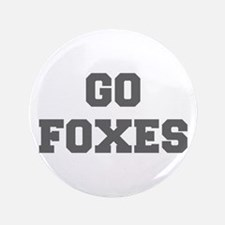"""FOXES-Fre gray 3.5"""" Button"""