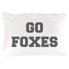 FOXES-Fre gray Pillow Case