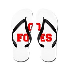 FOXES-Fre red Flip Flops