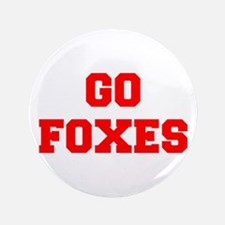 """FOXES-Fre red 3.5"""" Button"""