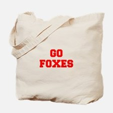FOXES-Fre red Tote Bag