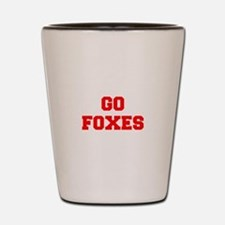 FOXES-Fre red Shot Glass