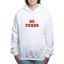 FOXES-Fre red Women's Hooded Sweatshirt