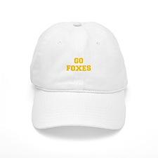 Foxes-Fre yellow gold Baseball Baseball Cap