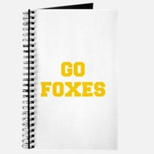 Foxes-Fre yellow gold Journal