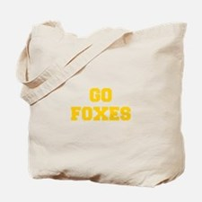 Foxes-Fre yellow gold Tote Bag