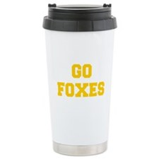 Foxes-Fre yellow gold Travel Mug