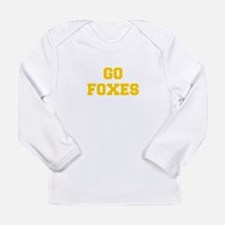 Foxes-Fre yellow gold Long Sleeve T-Shirt
