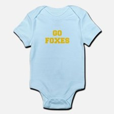 Foxes-Fre yellow gold Body Suit