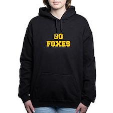 Foxes-Fre yellow gold Women's Hooded Sweatshirt