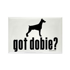 got dobie? Rectangle Magnet (100 pack)