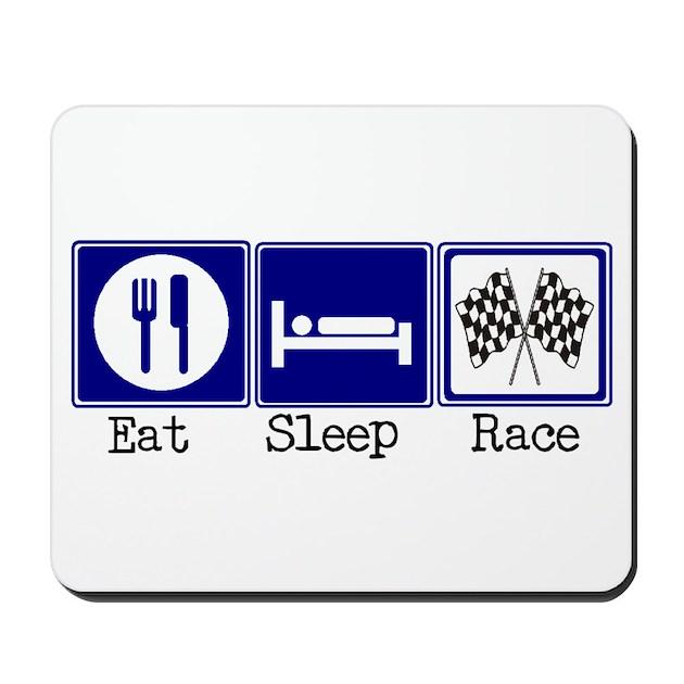 eat sleep race logo - photo #26
