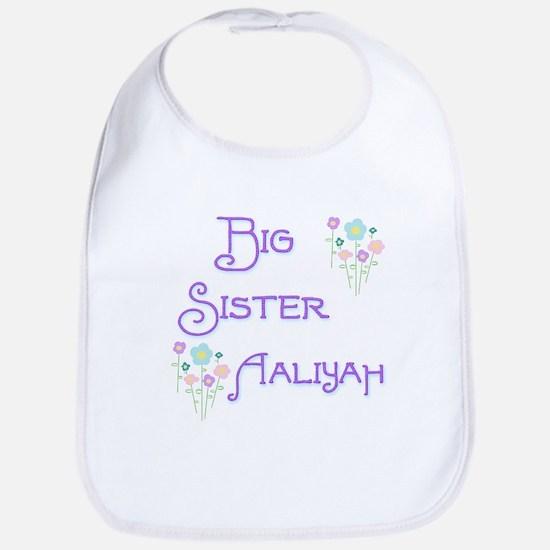 Big Sister Aaliyah Bib