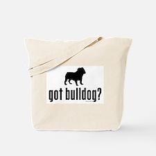 got bulldog? Tote Bag