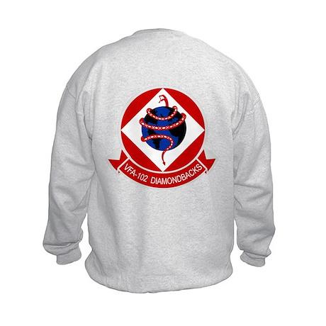 VFA-102 DIAMONDBACKS Kids Sweatshirt