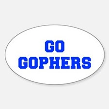 Gophers-Fre blue Decal