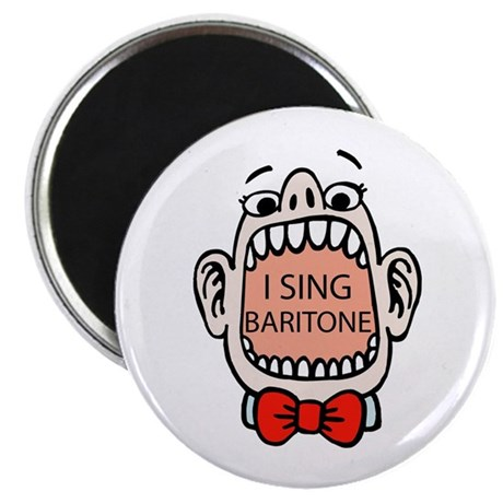 I Sing Baritone Magnet