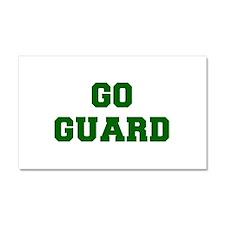 Guard-Fre dgreen Car Magnet 20 x 12