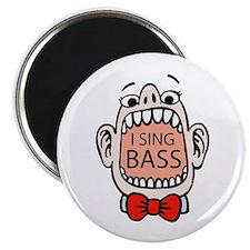 I Sing BASS Magnet