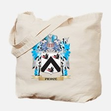 Pierce Coat of Arms - Family Crest Tote Bag