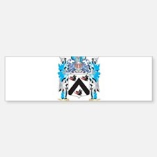 Pierce Coat of Arms - Family Crest Bumper Car Car Sticker