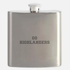 HIGHLANDERS-Fre gray Flask