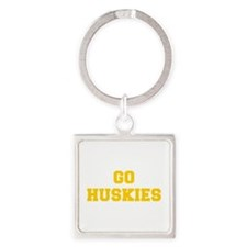 Huskies-Fre yellow gold Keychains